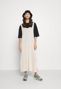 Weekday - ABBY DRESS - Maxi dress - light beige - 1