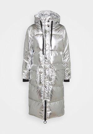 JAC LONG JACKET - Down coat - silver metallic