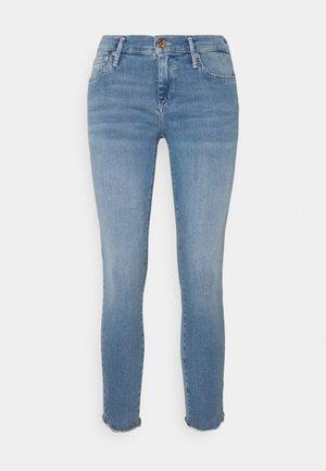 HALLE TRIANGLE TRUEFLEX - Skinny džíny - blue denim