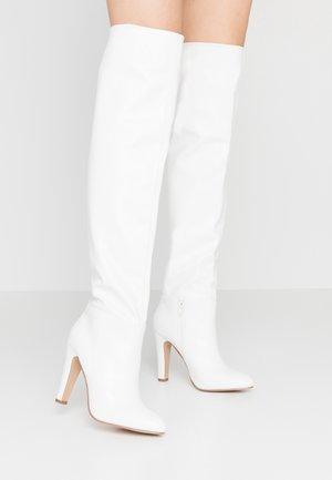 PINOT - Boots med høye hæler - white