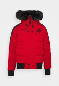 PUFFER BOMBER JACKET - Winter jacket - red
