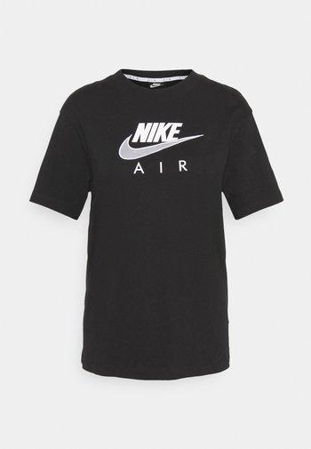 AIR  - Camiseta estampada - black/white