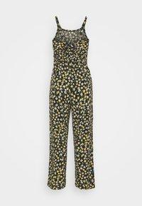 JDY - JDYALINA STRAP - Jumpsuit - black/yellow - 6