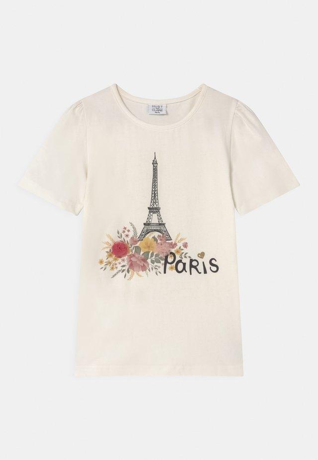 ADANE  - T-shirt print - white