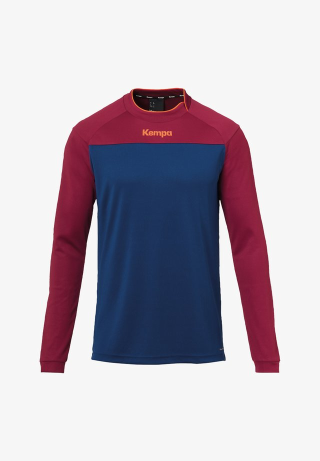 Sports shirt - blaurot