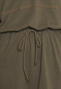G-Star - ADJUSTABLE WAIST DRESS - Jersey dress - khaki - 5