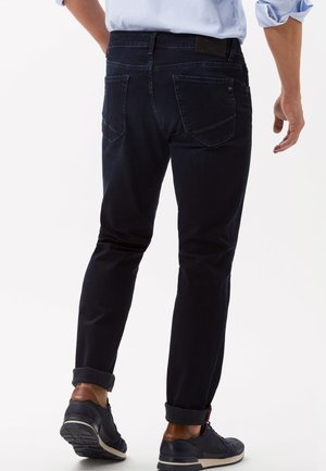 STYLE CHUCK - Slim fit jeans - blue-black denim