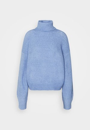 AGGIE TURTLENECK - Jumper - dove blue