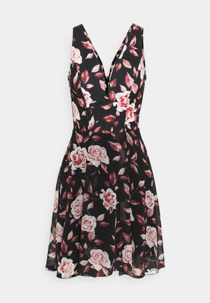 ISABELLE V NECK DRESS - Korte jurk - floral