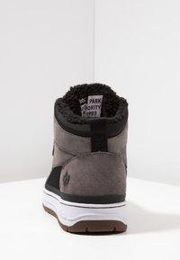 Park Authority - Sneakers hoog - dark grey/black - 3
