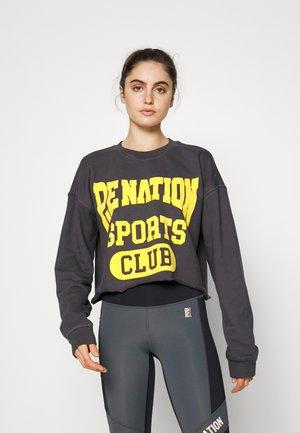 SET MATCH - Sweatshirt - charcoal