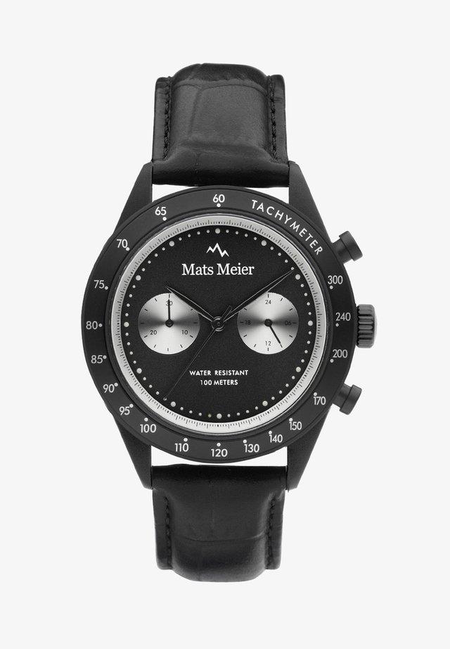Kronograf - schwarz