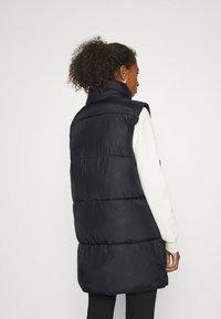 ONLY - ONLDEMY PADDED VEST - Waistcoat - black - 3