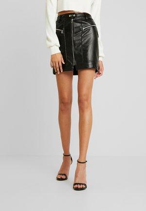 DYLAN SKIRT - Mini skirt - black