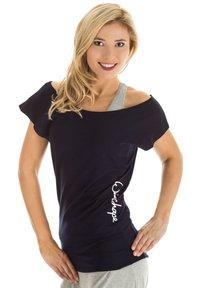 Winshape - Print T-shirt - night blue - 2