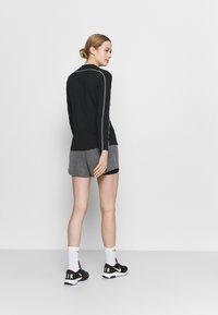 Nike Performance - SHORT - Sports shorts - black heather/black/white - 2