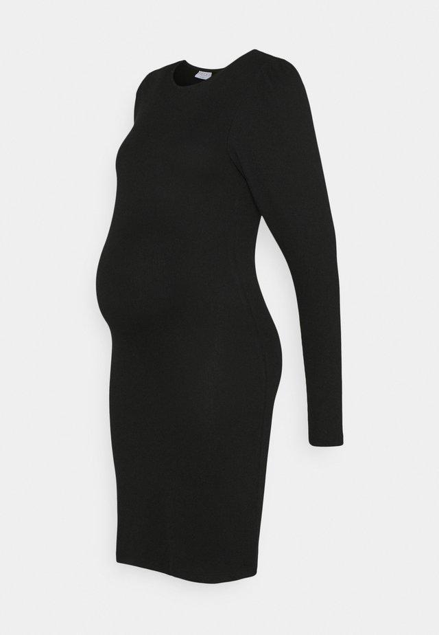 PCMSIERRA DRESS - Kotelomekko - black