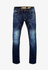 ALPINE - Straight leg jeans - blau