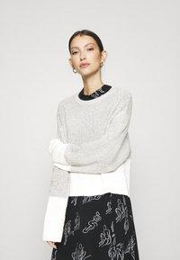 Even&Odd - Maglione - grey/white - 0