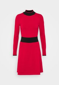 HUGO - SUMERY - Obleka/pulover - dark red - 4