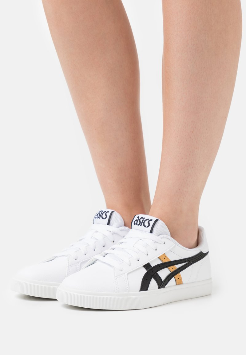 ASICS SportStyle - CLASSIC CT - Sneakersy niskie - white/pure gold