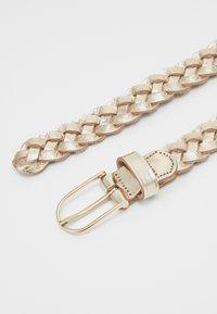 Vanzetti - Braided belt - gold metallic - 1
