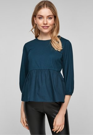 VOLANTS - Blouse - teal