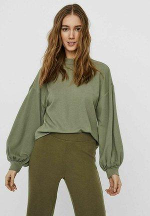 VMALFIE DROP SHOULDER - Long sleeved top - oil green