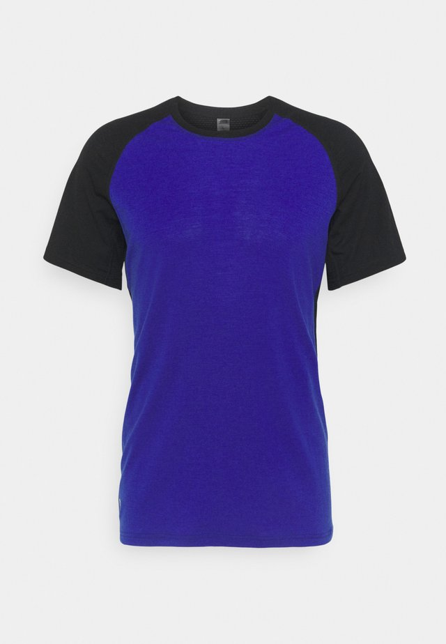 TEMPLE TECH  - T-paita - ultra blue/black
