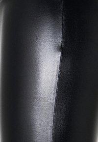 Even&Odd - WET LOOK  - Leggings - Trousers - black - 5