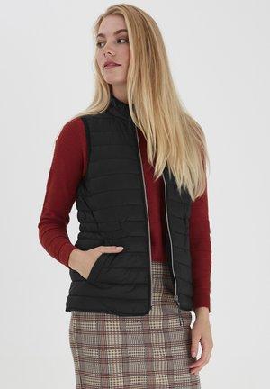 FRLAPADDING OUTERWEAR - Waistcoat - black