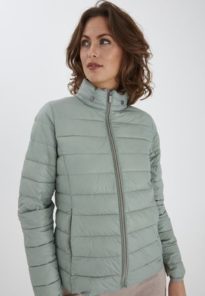 Veste d'hiver - mottled light green