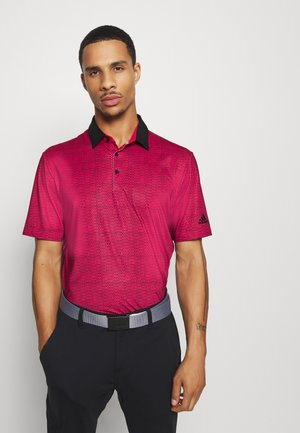 ULTIMATE 365 SHORT SLEEVE  - Polotričko - power pink/black