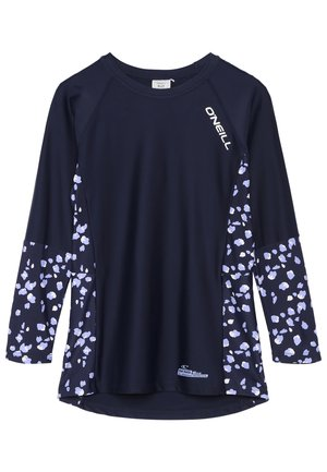 Long sleeved top - dunkelblau