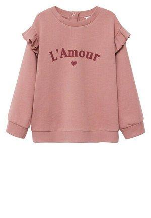 MARTA - Sweatshirt - roze