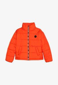 Hummel - NORTH - Winter jacket - tangerine tango - 3