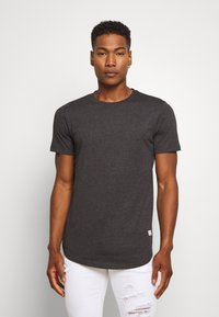 Jack & Jones - ENOA TEE CREW NECK MELANGE 5 PACK - T-shirt basic - olive night/olive/navy/rio - 3