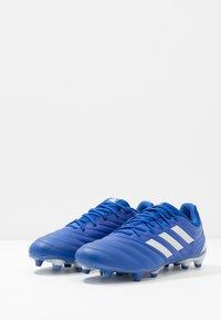 adidas Performance - COPA 20.3 FOOTBALL BOOTS FIRM GROUND - Voetbalschoenen met kunststof noppen - royal blue/silver metallic - 2