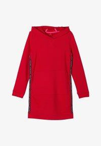 s.Oliver - MIT GALONSTREIFEN - Day dress - red - 0