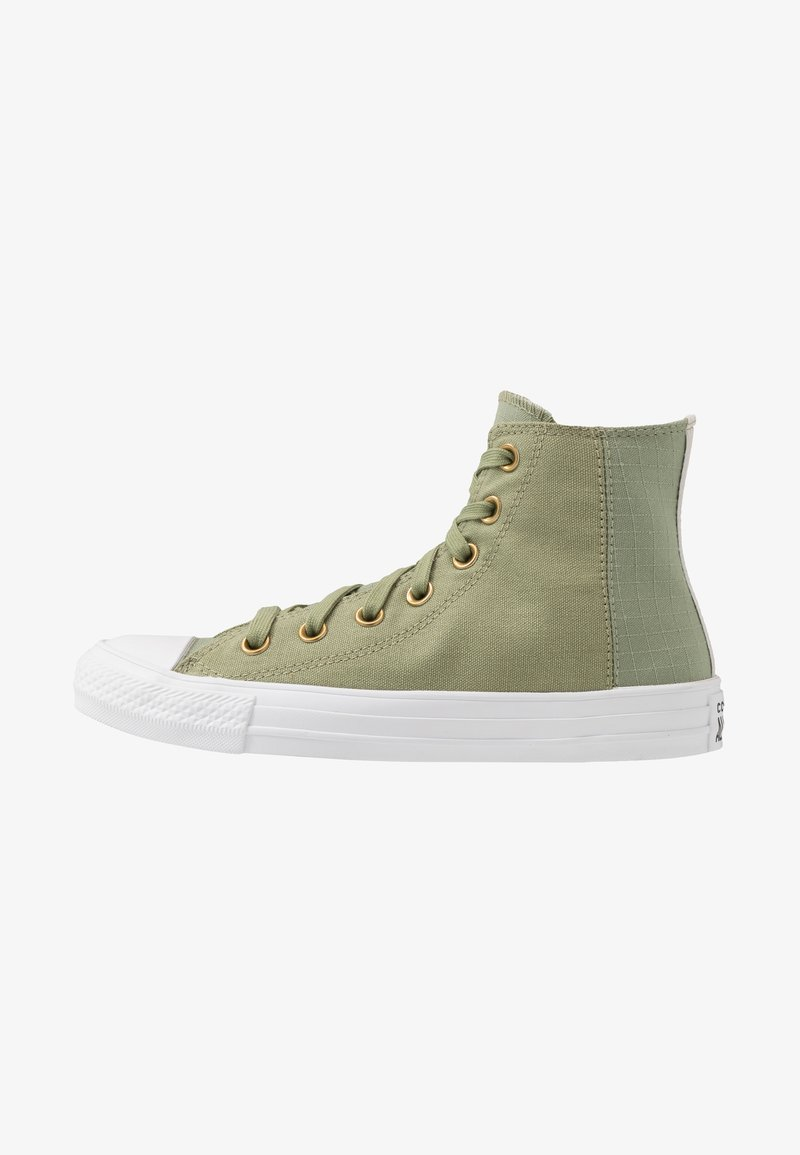 Converse - CHUCK TAYLOR ALL STAR - Höga sneakers - street sage/pale putty/white