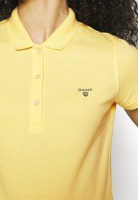 GANT - SUMMER - Poloskjorter - brimstone yellow - 4