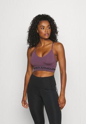 SEAMLESS LOW LONG BRA - Sportovní podprsenky s lehkou oporou - purple