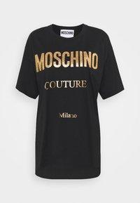 MOSCHINO - Print T-shirt - black - 6