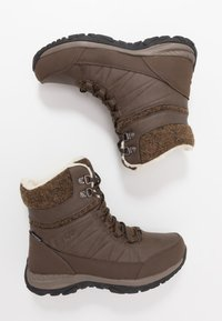 Hi-Tec - RIVA MID WP - Snowboot/Winterstiefel - dark brown/beige - 1