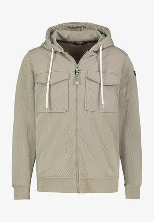 Zip-up sweatshirt - light-green