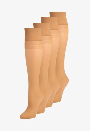 20 DEN EVERYDAY 4  PACK - Knee high socks - make-up