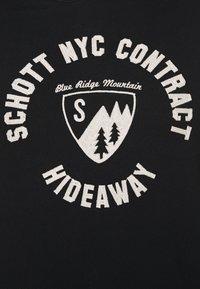 Schott - MOUNTAIN - Sweatshirt - black - 5