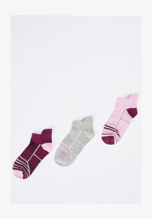 3ER PACK - Trainer socks - karma