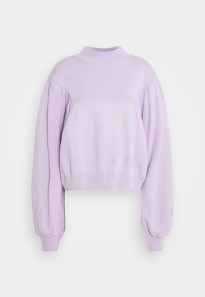 BALLOON SLEEVE  - Jumper - lilac