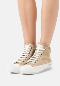 Candice Cooper - PLUS - High-top trainers - tamponato/panna - 0